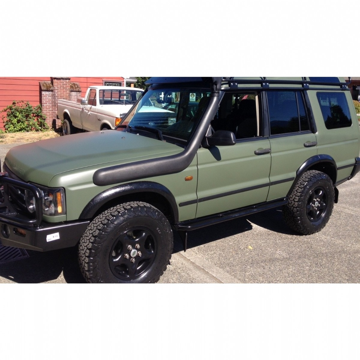 Landrover Discovery 2  Sol Snorkel |